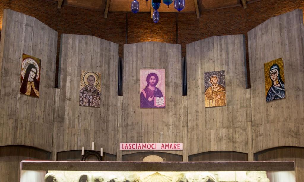 San Giovanni Crisostomo Milano - L'abside